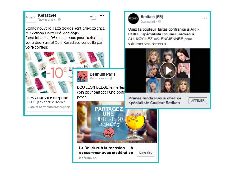 <h2>Vos publicités personnalisées par point de vente sans effort!</h2>